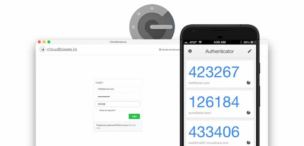 Cloudboxes.io Two-factor Authentication